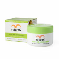 Rebirth Original Lanolin Anti Wrinkle Cream with Vitamin 100 ml Brand New