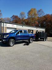Iron Hog Bbq Barn Door Smoker W Sinks Mount Trailer Food Truck Business Catering