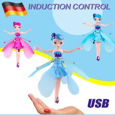 Fliegende Fee Puppe Infrarot Induktion Steuerung Spielzeug Kinder Xmas Geschenk