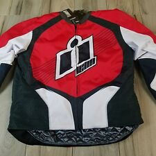 NWT Icon Overlord 2 Textile Motorcycle Jacket Airflow Armored SZ 2X Attack Fit