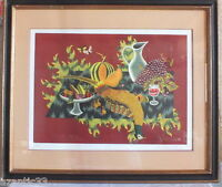 Picart the Soft Lithography Still Life choose Pheasant Numbered 1/250 Signed