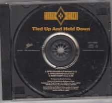SHARK ISLAND - TIED UP AND HELD DOWN CD 1990 3 TRACK PROMO ESK2060