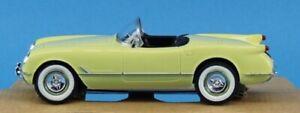 AMT ERTL 1:25 1955 Chevrolet Corvette Harvest Gold Built Model #30156