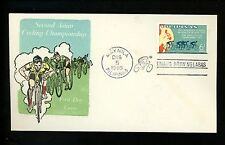 Postal History Philippines Scott #939 FDC Overseas Mailer Bike Race 12/5/1965