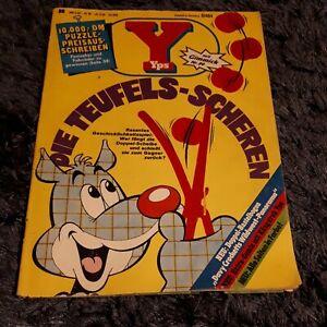 YPS Heft 89 mit Magazinteil + Davy Crockett Western-Comic 1977