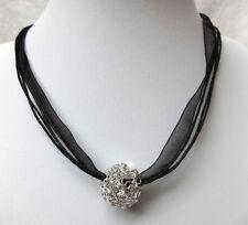 Runde Echtschmuck-Halsketten Perlen