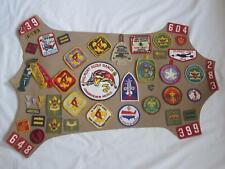 Vintage Boy Scout Patch Mixed Lot 1960's 70's Texas Philmont Colonneh Lodge 137