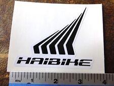 Haibike sticker decal bike race MTB ride bicycle