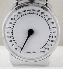 Mini Küchenwaage 1kg oder 1 Liter analog mechanisch handliches Designer NEU