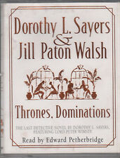 Dorothy L Sayer Jill Paton Walsh Thrones Dominations 2 Cassette Audio Book