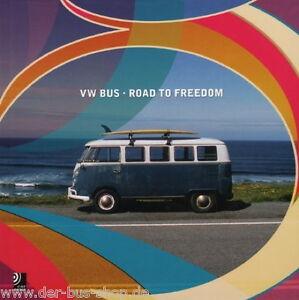 VW Bus - Road to Freedom - Earbook / Fotobuch + 2 CD´s