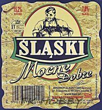 Poland Brewery Lwówek Śląski Mocne Beer Label Bieretikett Cerveza ls133.4