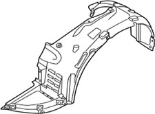 63842-ZX70A Nissan Protector-front fender, rh 63842ZX70A, New Genuine OEM Part