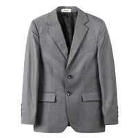 Page Boy Suit Christening Formal Wedding Grey Suit Jacket Suit Blazer 1-8 Years