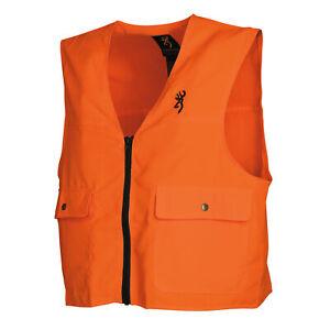 Browning Safety Blaze Overlay Vest Large, Blaze 3051000103