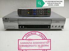 LG VIDEOREGISTRATORE VHS ALTA QUALITÀ NTSC PAL LONG PLAY MODEL LV4285 1 SCART