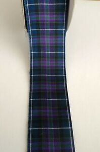 Pride of Scotland MODERN Tartan Ribbon TOP QUALITY 4 widths & End of Roll Length
