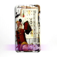 Leisure Hipster Cute Design Hard Case Cover Skin For iPod Touch 4 4th Generation