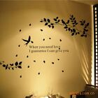 large tree birds Sticker wall Decal Removable Art Vinyl Mural Decor Home living