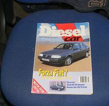 DIESEL CAR ISSUE 25 OCTOBER 1990 - FIAT TEMPRA 1.9TDS/MERCEDES 300TD ESTATE