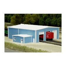 "N Scale: ""The Shops"" Kit #541-8014 by Pikestuff"