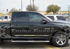 2002-2008 Dodge Ram 1500/03-08 2500 Quad Cab 4Pc Chrome Flat Body Side Molding