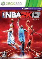 Used Xbox 360 NBA 2K13 MICROSOFT JAPAN JAPANESE JAPONAIS IMPORT