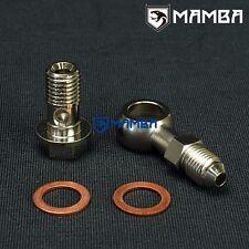 M12 x 1.5 mm Banjo Bolt Oil Feed Kit 12mm*1.5mm to 4AN 4AN -4 VOLVO SAAB TD04HL