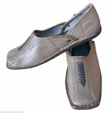 Men Shoes Traditional Handmade Leather Flip-Flops Casual Jutties Loafers Us 10