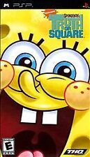 SpongeBob's Truth or Square (Sony PSP, 2009) Disc Only