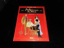 Van Hamme / Vallès : Les maîtres de l'orge 1 Charles, 1854 Editions Glénat 1999