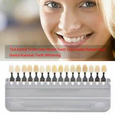Shade Guide Dental Dentist Materials 16 Colors Shade Guide Teeth