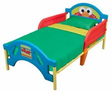 Sesame Street Plastic Toddler Bed - Weight Limit 50 lbs. By Delta Children