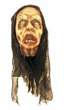 HANGING HEAD WITH LIGHTS Trick or Treat Halloween Party Prop Scary Decoration
