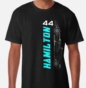 Lewis Hamilton 44 AMG Mercedes Benz T Shirt Motorsport Men's Birthday Gift  622