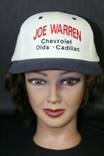 Joe Warren Chevrolet Oldsmobile Cadillac Baseball Trucker Cap Hat Adjustable