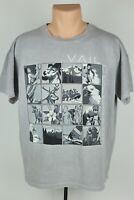 Vintage Vail Colorado Adult Large Gray Single Stitch Block Graphic T Shirt USA