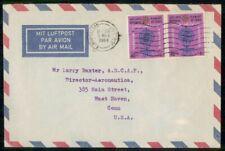 Mayfairstamps Iraq 1964 to Director Aeronautica Malaria Block Cover wwm_25977