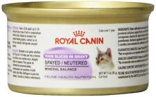 Royal Canin Spayed/Neutered Thin Slices In Gravy Canned Cat Food (24X3 Oz)