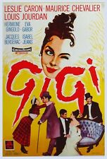 RARE 16mm Feature: GIGI (CINEMASCOPE) LESLIE CARON / MAURICE CHEVALIER / MGM
