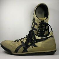 Asics Onitsuka Tiger Beige Men's Size 10 Tennis Shoes Lace-Up Sneakers D00CJ