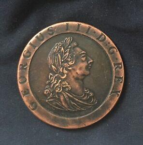 George 111 *1797* Cartwheel Penny - British Coins / Restrike