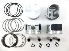 Upgraded Piston+Premium Ring Kit  (Std) for Nissan 02-06 2.5L Altima Sentra QR25