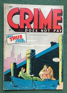 Crime Does Not Pay #39 Lev Gleason Pub Golden Age All True Illustories g/vg-