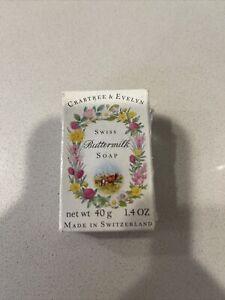 Vintage Crabtree & Evelyn Buttermilk Triple Milled Soap 1.4 Oz