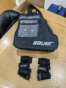 Bauer Inline Skates Hockey Bag & wrist guards