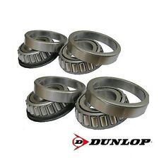 """Dunlop trailer wheel bearings 44643 & 44643L pour 4"""" - 100mm pcd hub sur 1"""" essieux"""