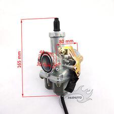 Carby PZ30 30mm Cable Choke Carburetor For 200cc 250cc ATV Quad Pit Dirt Bike