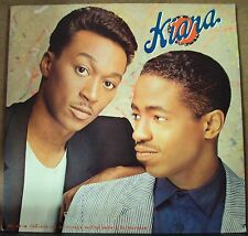 KIARA To Change And/Or Make A Difference LP OOP late-80's pop-R&B promo