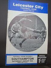 Leicester V Southampton  1967/8